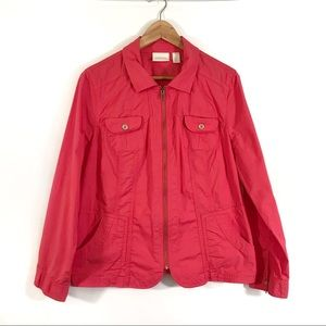 Chico's Coral Jacket